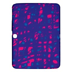 Blue and pink neon Samsung Galaxy Tab 3 (10.1 ) P5200 Hardshell Case