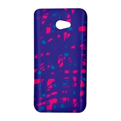 Blue and pink neon HTC Butterfly S/HTC 9060 Hardshell Case