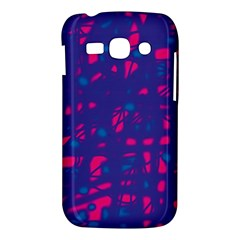 Blue and pink neon Samsung Galaxy Ace 3 S7272 Hardshell Case