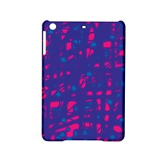 Blue and pink neon iPad Mini 2 Hardshell Cases