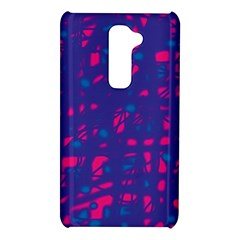 Blue and pink neon LG G2