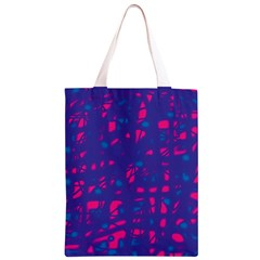 Blue and pink neon Classic Light Tote Bag