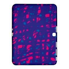 Blue and pink neon Samsung Galaxy Tab 4 (10.1 ) Hardshell Case