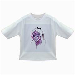 Alice Sugar Skull Infant/toddler T Shirts
