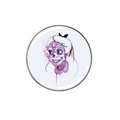 Alice Sugar Skull Hat Clip Ball Marker