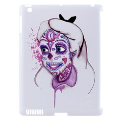 Alice Sugar Skull Apple iPad 3/4 Hardshell Case (Compatible with Smart Cover)