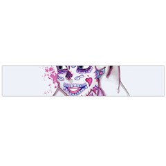 Alice Sugar Skull Flano Scarf (Large)