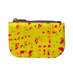 Yellow and red Mini Coin Purses