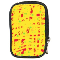 Yellow and red Compact Camera Cases