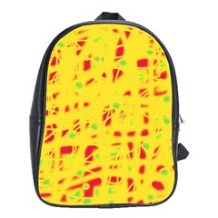 Yellow and red School Bags(Large)