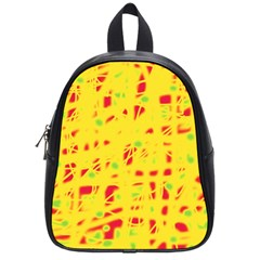 Yellow and red School Bags (Small)
