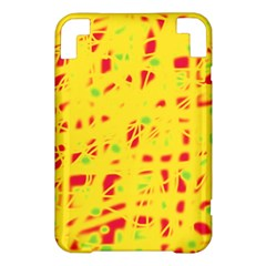 Yellow and red Kindle 3 Keyboard 3G