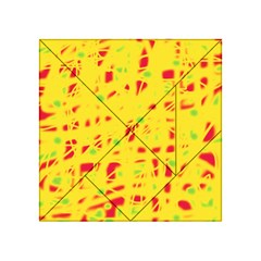 Yellow and red Acrylic Tangram Puzzle (4  x 4 )