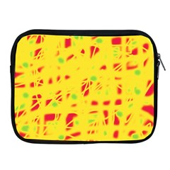 Yellow and red Apple iPad 2/3/4 Zipper Cases