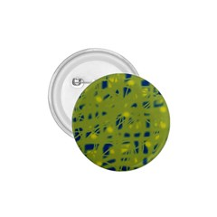 Green and blue 1.75  Buttons