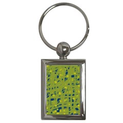 Green and blue Key Chains (Rectangle)