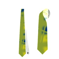 Green and blue Neckties (Two Side)