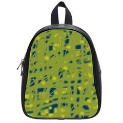 Green and blue School Bags (Small)