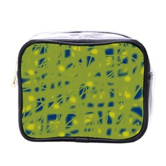 Green and blue Mini Toiletries Bags