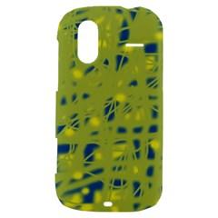 Green and blue HTC Amaze 4G Hardshell Case