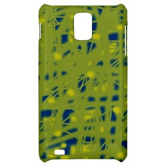 Green and blue Samsung Infuse 4G Hardshell Case