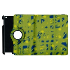 Green and blue Apple iPad 3/4 Flip 360 Case