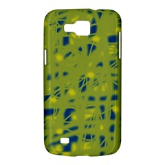 Green and blue Samsung Galaxy Premier I9260 Hardshell Case