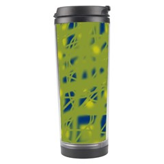 Green and blue Travel Tumbler