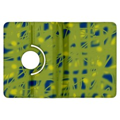 Green and blue Kindle Fire HDX Flip 360 Case