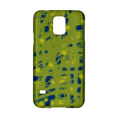 Green and blue Samsung Galaxy S5 Hardshell Case