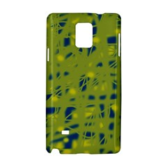 Green and blue Samsung Galaxy Note 4 Hardshell Case