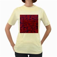 Decor Women s Yellow T-Shirt