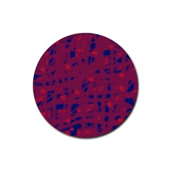 Decor Rubber Coaster (Round)