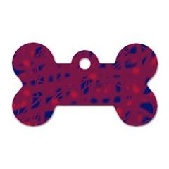 Decor Dog Tag Bone (Two Sides)