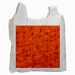 Orange Recycle Bag (One Side)
