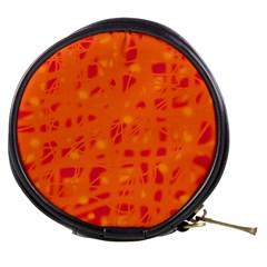 Orange Mini Makeup Bags