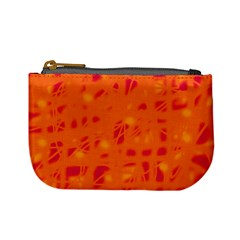 Orange Mini Coin Purses