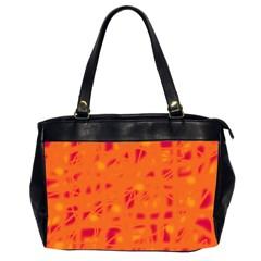 Orange Office Handbags (2 Sides)