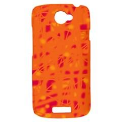 Orange HTC One S Hardshell Case