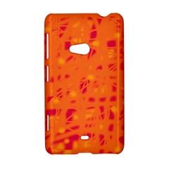Orange Nokia Lumia 625