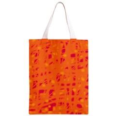 Orange Classic Light Tote Bag