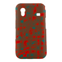 Red and brown Samsung Galaxy Ace S5830 Hardshell Case