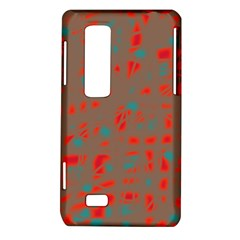 Red and brown LG Optimus Thrill 4G P925