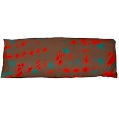Red and brown Body Pillow Case Dakimakura (Two Sides)