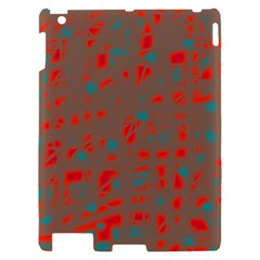 Red and brown Apple iPad 2 Hardshell Case