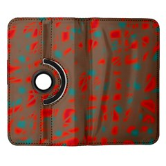 Red and brown Samsung Galaxy Note II Flip 360 Case