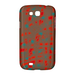 Red and brown Samsung Galaxy Grand GT-I9128 Hardshell Case