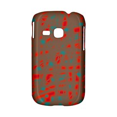 Red and brown Samsung Galaxy S6310 Hardshell Case