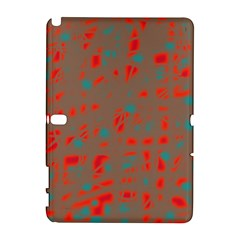Red and brown Samsung Galaxy Note 10.1 (P600) Hardshell Case