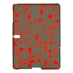 Red and brown Samsung Galaxy Tab S (10.5 ) Hardshell Case